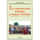La communication technique en langues africaines